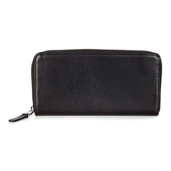 KONYA Large Zip Wallet (BLACK)