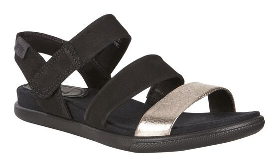 DAMARA Modern Sandal (WARM GREY/BLACK)