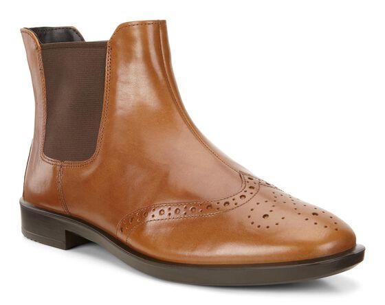 SHAPE M Short Boot 15mm (CAMEL)