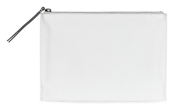 SCULPTURED Clutch (WHITE)