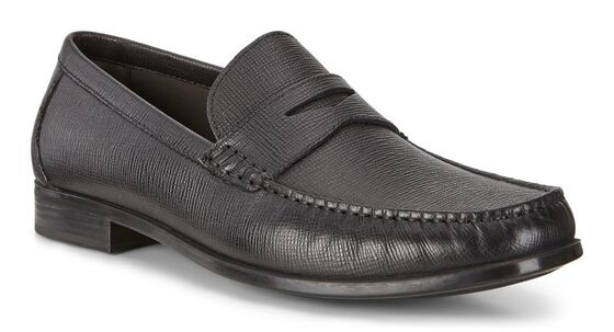 DRESS MOC Penny Loafer (BLACK)