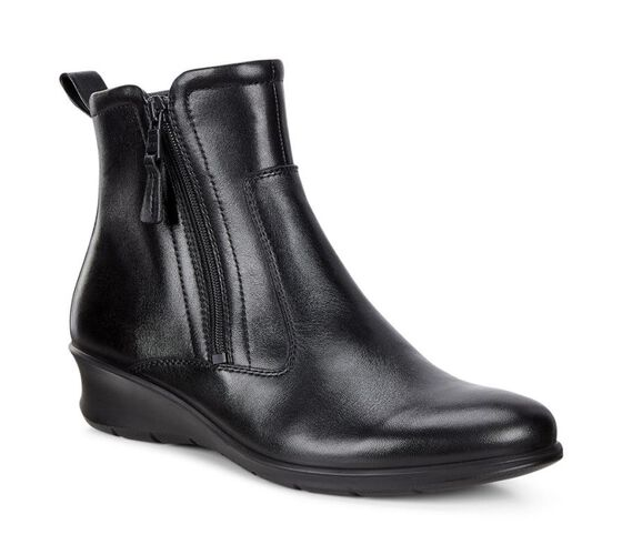 FELICIA Ankle Boot Zipup (BLACK)