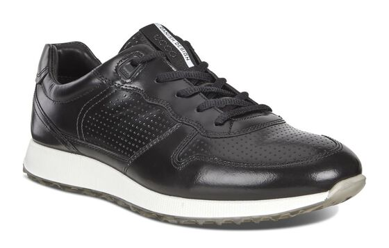 SNEAK Mens Brushed Sneaker (BLACK)