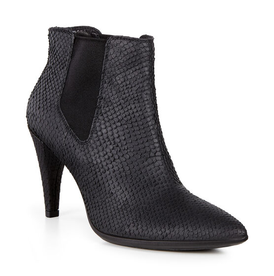 SHAPE POINTY Ankle Boot 75mm (BLACK)