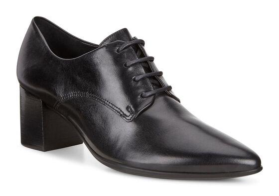 SHAPE POINTY BLOCK Tie 45mm (BLACK)