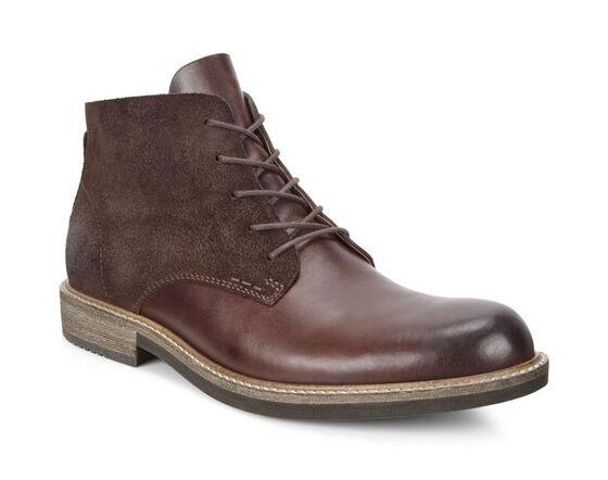 KENTON Plain Toe Boot (MINK/MOCHA)