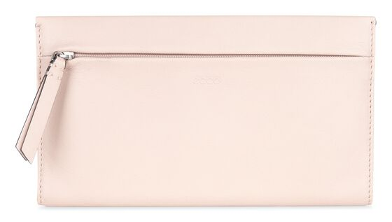 SCULPTURED Large Wallet (ROSE DUST)