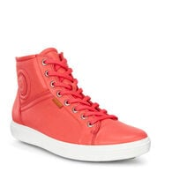 ECCO SOFT7 Womens High TopECCO SOFT7 Womens High Top CORAL BLUSH (01255)