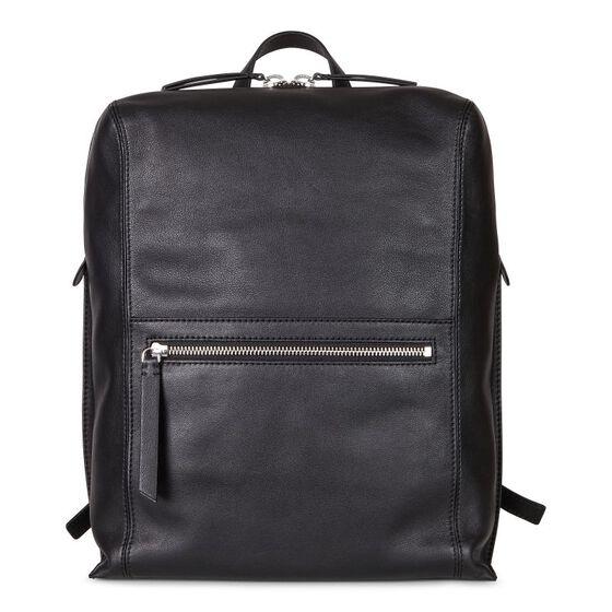 SCULPTURED Square Backpack (BLACK)