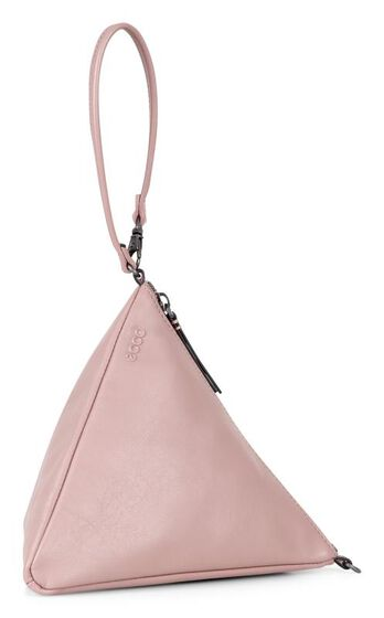 SCULPTURED Pyramid Bag (DUSTY PURPLE)