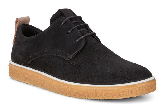 CREPETRAY Womens Derby Tie (BLACK/POWDER)
