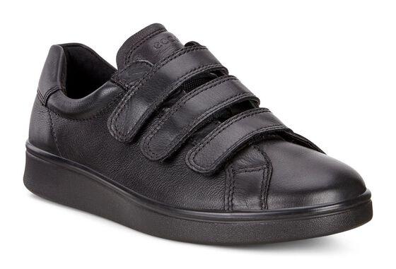 SOFT4 Velcro Sneaker (BLACK/BLACK)