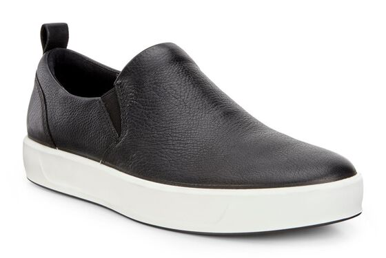 SOFT8 Mens Slip On (BLACK)