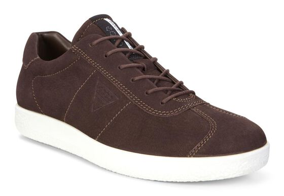 SOFT1 Mens Sneaker (COFFEE)