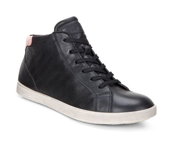 AIMEE Sporty High Top (BLACK/SILVER PINK)