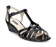 RIVAS Wedge Sandal 45mmRIVAS Wedge Sandal 45mm in BLACK/BLACK (51052)