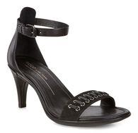 SHAPE 65 SLEEK Ankle Sandal (BLACK/BLACK)
