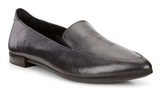 SHAPE POINTY BALLERINA Opera Loafer (BLACK)