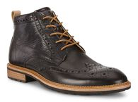 ECCO VITRUS I Halo Brogue Boot (BLACK)