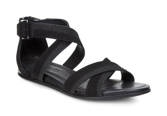 TOUCH SANDAL Ankle Belt (BLACK/BLACK)
