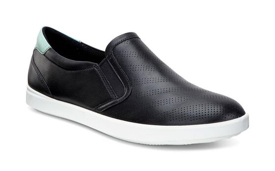 AIMEE Sport Slip On (BLACK/GRANITE GREEN)