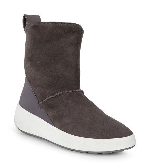 UKIUK Lamb Skin Short Boot (SLATE/SLATE)