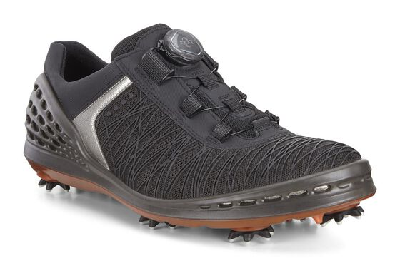 CAGE Golf Mens BOA (BLACK/FIRE)