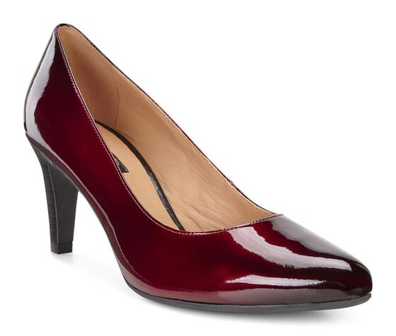 ALICANTE Pump 75mm (BORDEAUX-BLACK)