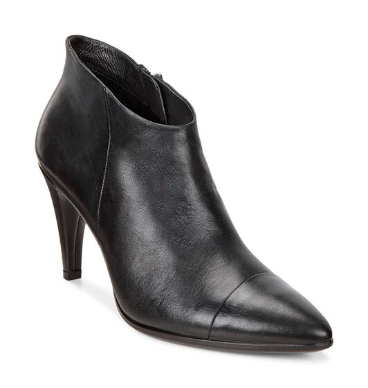 SHAPE 75 POINTY Low Cut Boot (BLACK)