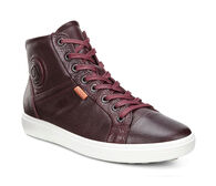 ECCO SOFT7 Womens High TopECCO SOFT7 Womens High Top BORDEAUX (01070)