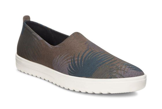 FARA Slip On (TARMAC PALM PRINT/DEEP FOREST)