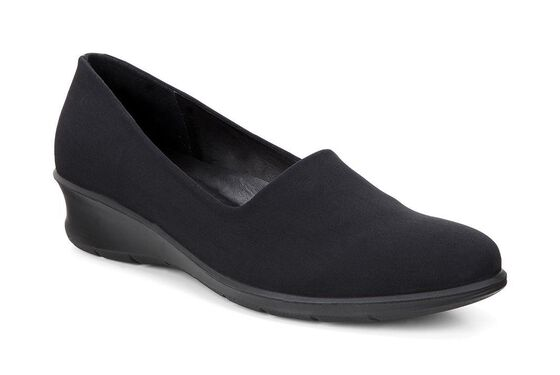 FELICIA Stretch Slip On (BLACK/BLACK)