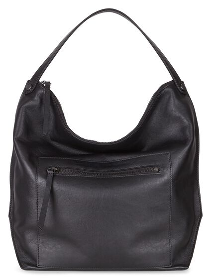 SCULPTURED Hobo Bag (BLACK)