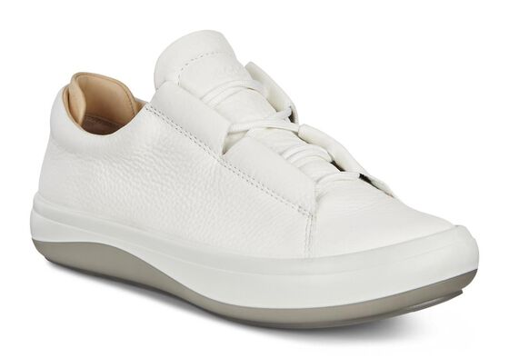 KINHIN Ladies Lowcut (WHITE/VEG TAN)