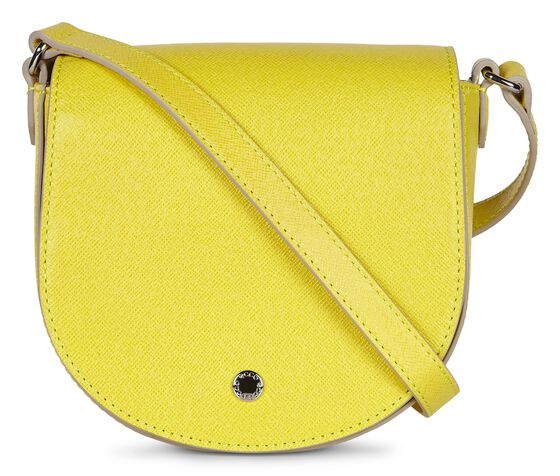 IOLA Small Saddle Bag (LEMON)