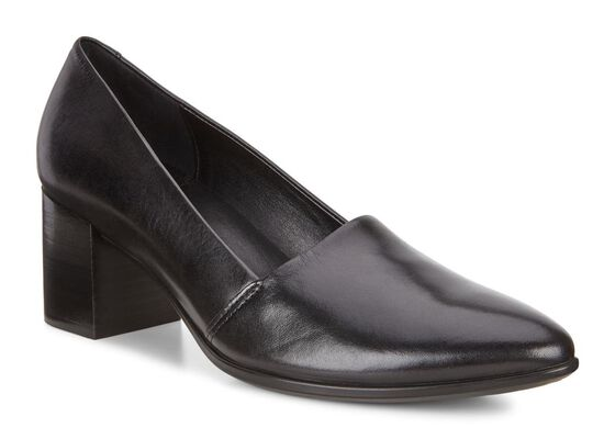 ECCO SHAPE POINTY BLOCK Pump 45mm (BLACK)