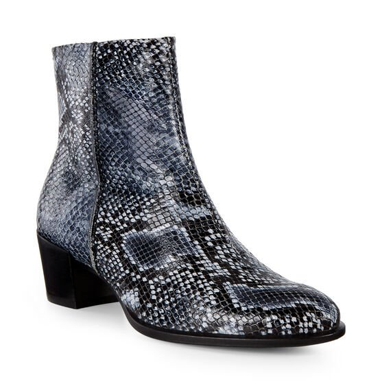 SHAPE Snakeskin Boot 35mm (TRUE NAVY)