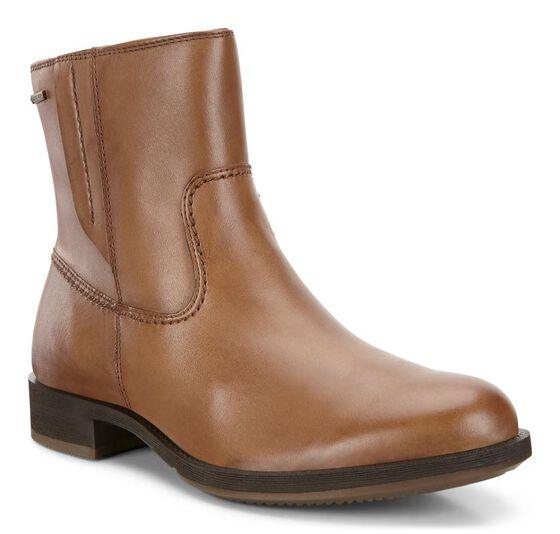SAUNTER Leather Boot GTX (CAMEL)