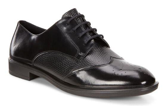 SHAPE M Brushed Tie 15mm (BLACK/BLACK)