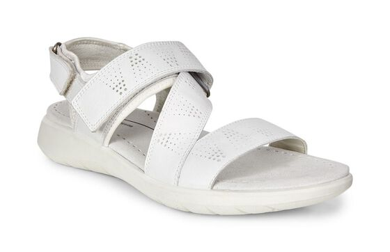 SOFT5 Cross Strap Sandal (WHITE/WHITE)