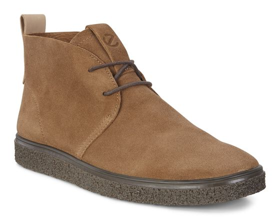 ECCO CREPETRAY Mens Ankle Boot (WHISKY)