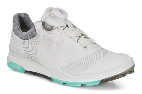 BIOM HYBRID3 Womens Golf BOA GTX (WHITE/EMERALD)