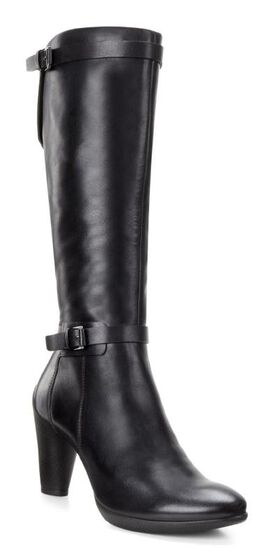 Sculptured Tall Boot 75mmSculptured Tall Boot 75mm BLACK (01001)