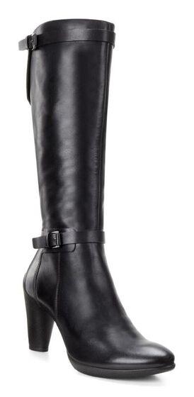 ECCO Sculptured 75 Tall Boot (BLACK)