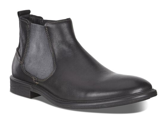 KNOXVILLE Side Gore Boot (BLACK)