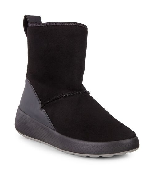 UKIUK Lamb Skin Short Boot (WINE/WINE)