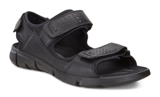 INTRINSIC Mens Sports Sandal (BLACK/BLACK)