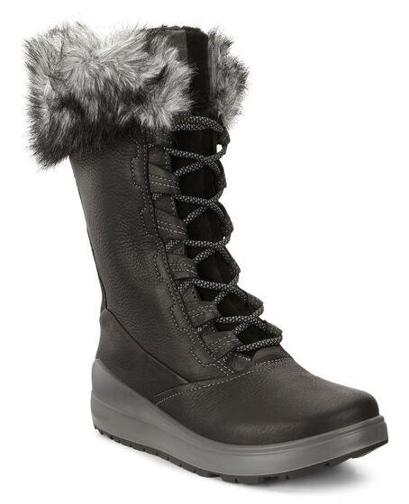 NOYCE High Lace Boot (BLACK/BLACK)