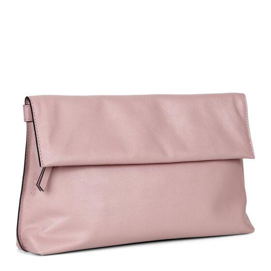 SCULPTURED Clutch Bag (TEA ROSE)