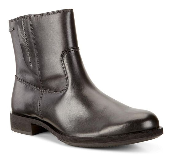 SAUNTER Leather Boot GTX (BLACK)